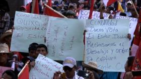 Campesinos guatemaltecos protestan contra corrupción