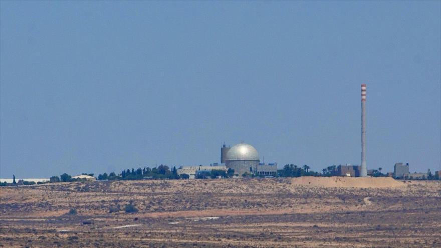 Dimona, central nuclear de Israel ubicada en el sur de los territorios palestinos ocupados.
