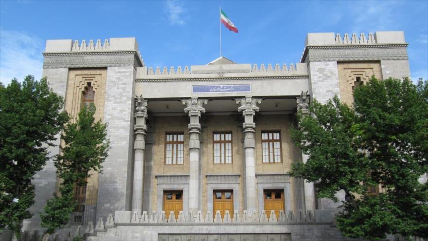 Sede del Ministerio de Asuntos Exteriores de Irán en Teherán, la capital persa.