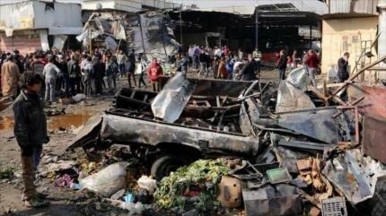 Atentado terrorista en Irak deja 8 muertos y 15 heridos