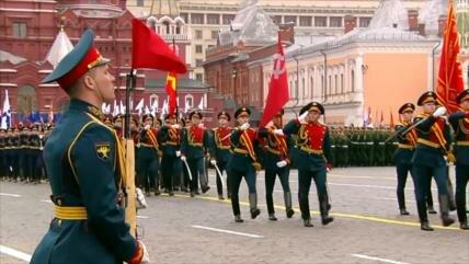 Rusia festeja el Día de la Victoria contra la Alemania nazi