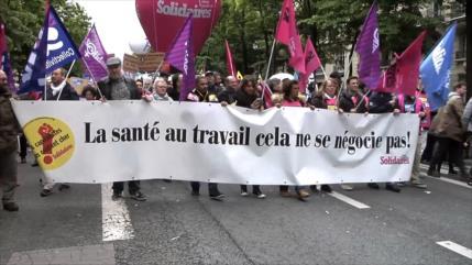 Funcionarios franceses rechazan reforma propuesta por el Gobierno