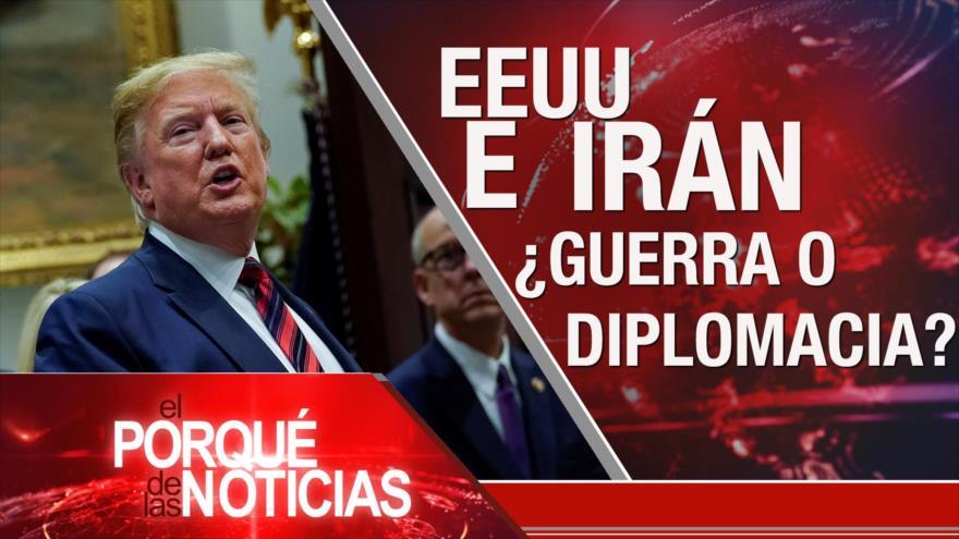El Porqué de las Noticias: Europa en acuerdo nuclear. Amenaza de EEUU a Irán. Venta de armas francesas