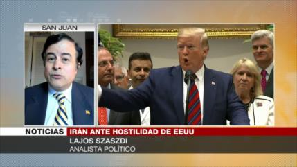 Szaszdi: Conflicto con Irán no es tan sencillo como lo pinta EEUU