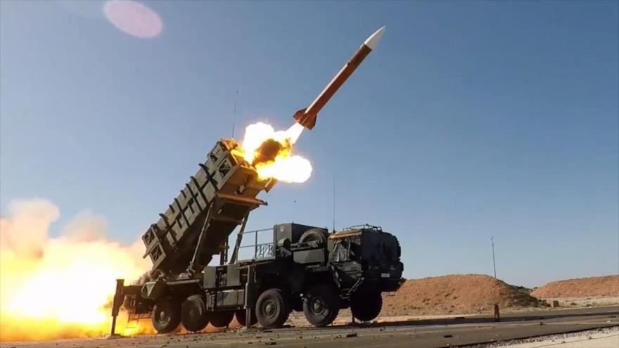 Un sistema de defensa antimisiles Patriot, de fabricación estadounidense.