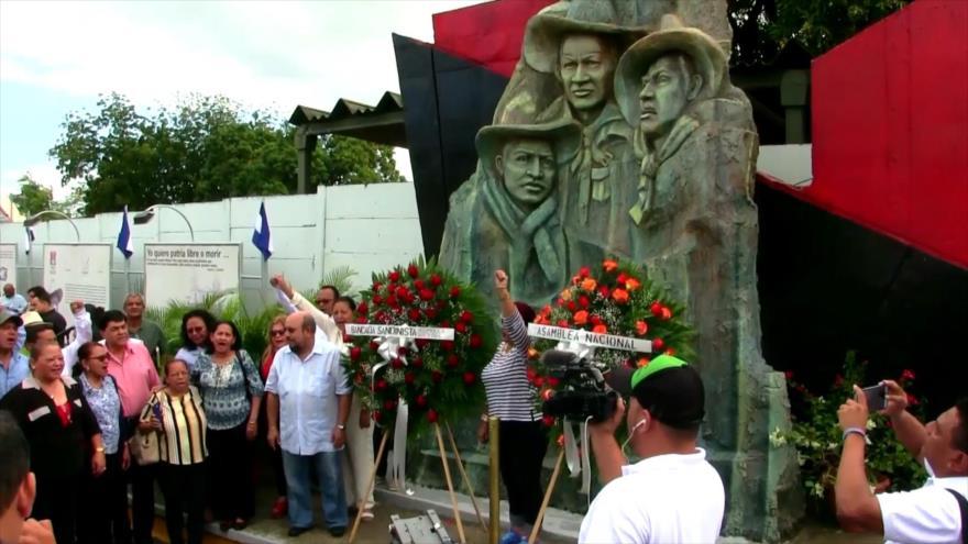 Nicaragua conmemora el Día de la Dignidad Nacional