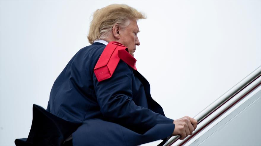 El presidente de EE.UU., Donald Trump, en una visita al estado de Florida, 8 de mayo de 2019. (Foto: AFP)