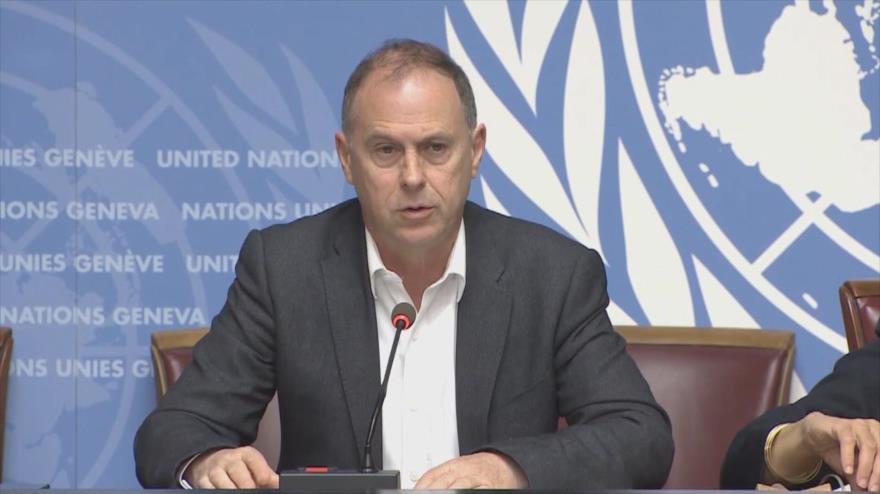 El portavoz del Alto Comisionado de Naciones Unidas para los Derechos Humanos (OACNUDH), Rupert Colville, 10 de mayo de 2019.