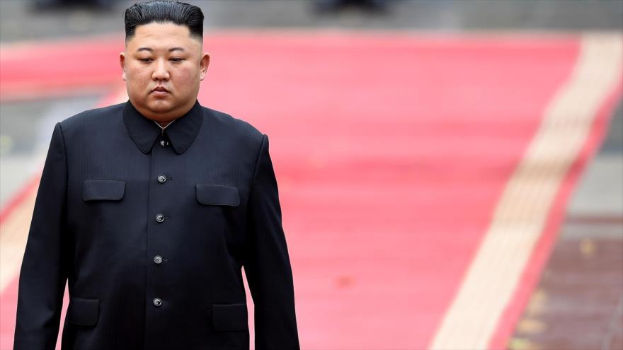 El líder de Corea del Norte, Kim Jong-un, el palacio presidencial en Hanói, 1 de marzo de 2019. (Foto: AFP)