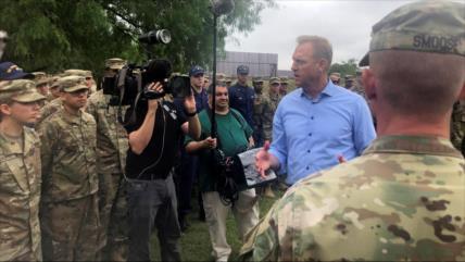 Tropas de EEUU permanecerán a largo plazo en la frontera mexicana