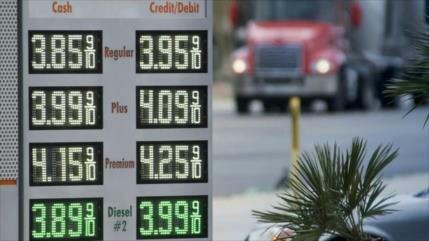 Precio de gasolina sube a su nivel más alto desde octubre de 2014