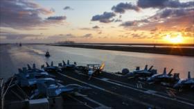 """""""USS Abraham Lincoln no es una amenaza para Irán, sino un blanco"""""""