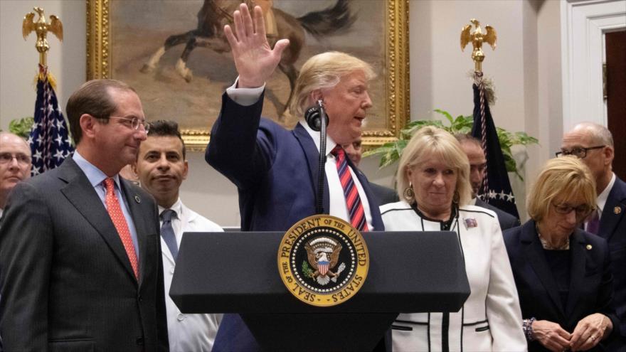 'Trump puede provocar que los demócratas pidan su impeachment'   HISPANTV