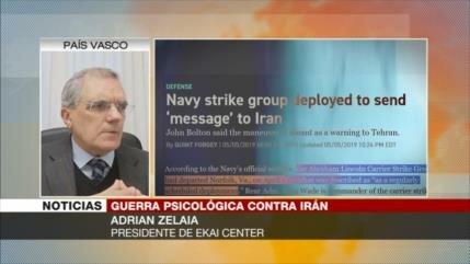 'Irán sabe el objetivo de movimientos propagandísticos de EEUU'