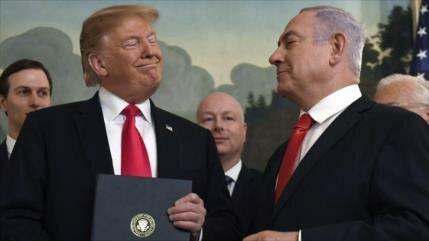 Netanyahu anuncia 'colonia Trump' en Golán sirio
