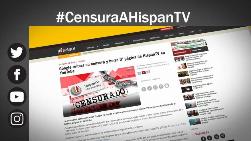 Etiquetaje: Censura a HispanTV, ¿por gritar la verdad?