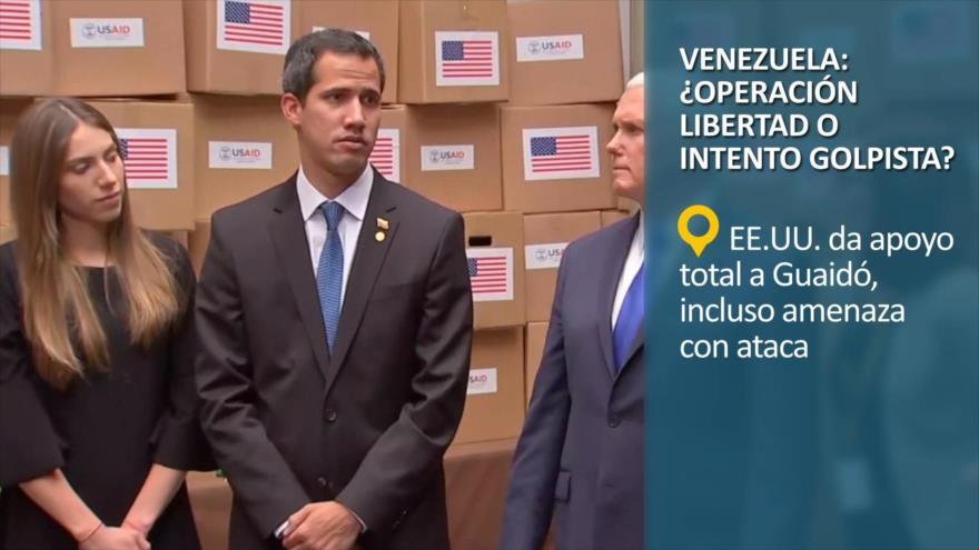 PoliMedios: Venezuela; ¿Operación Libertad o intento golpista?