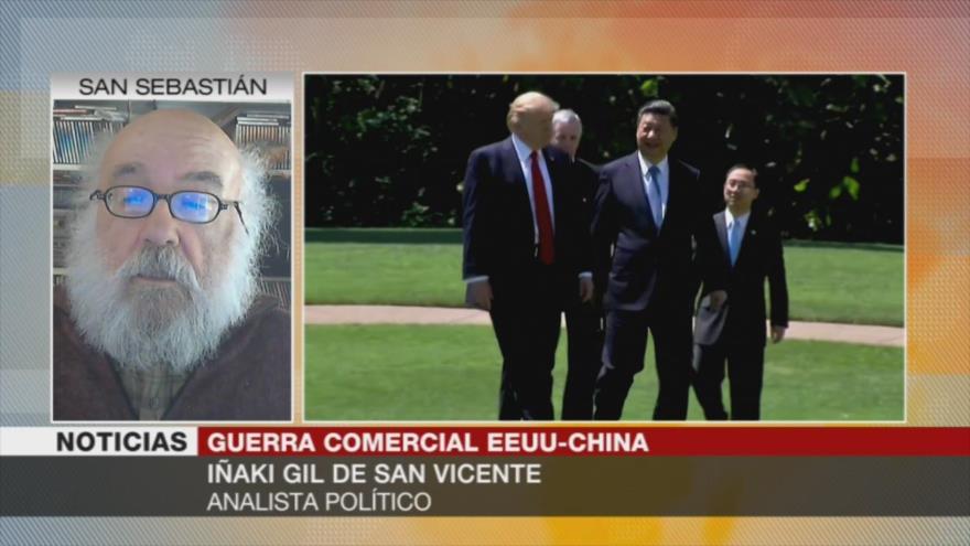 Iñaki Gil: EEUU y China avanzan hacia una 'guerra económica sorda' | HISPANTV