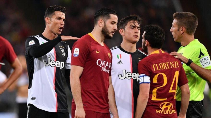 Vídeo: Ronaldo se mofa de Florenzi, pero él responde con un golazo