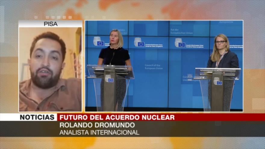 Dromundo: Europa tiene interés en mantener pacto nuclear con Irán | HISPANTV