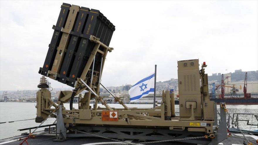 Sistema antimisiles Cúpula de Hierro del régimen de Israel.