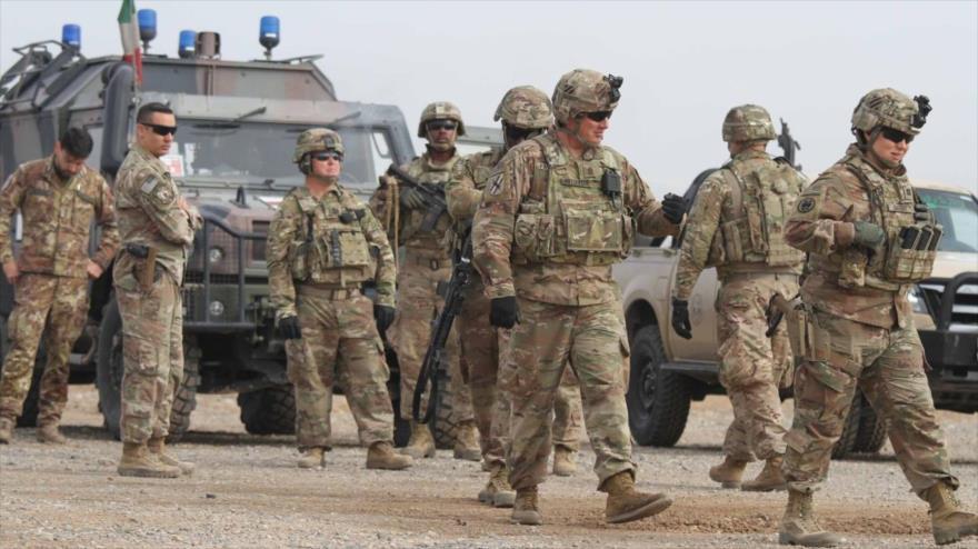 Soldados estadounidenses desplegados en Afganistán.