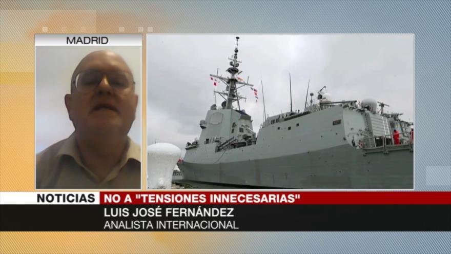 'Retirada de fragata española muestra el rechazo de UE a EEUU'
