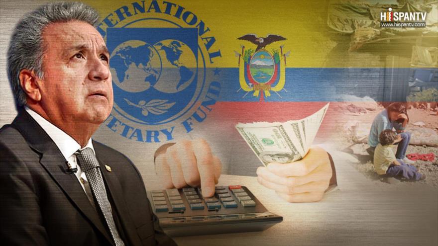 Ecuador y el FMI: misma piedra, mismo tropiezo | HISPANTV