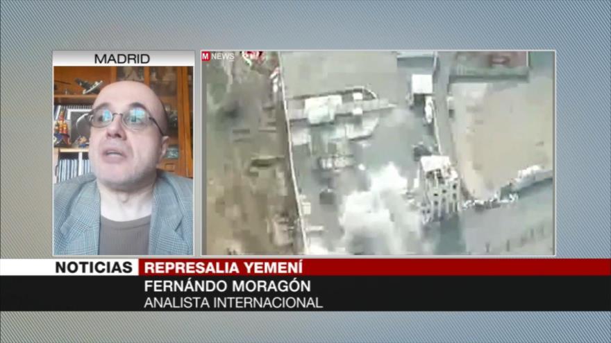 Moragón: EEUU no puede defender a Riad ante ataques yemeníes