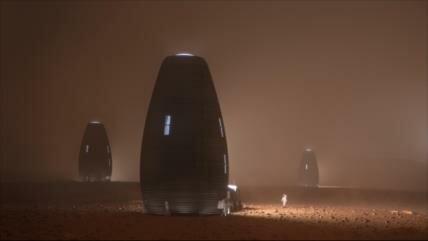 Vídeo: Así serían las viviendas de futuros habitantes del Marte