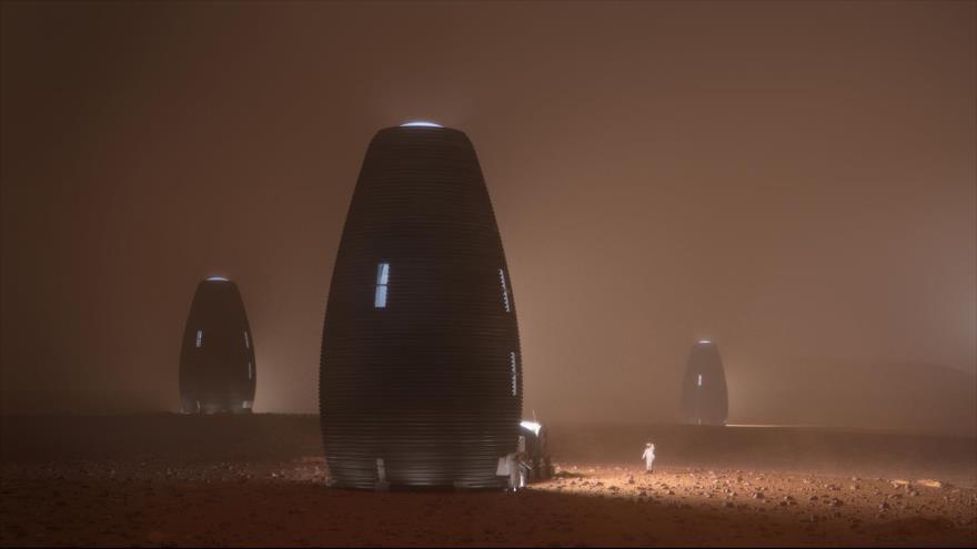Vídeo: Así serían las viviendas de futuros habitantes del Marte | HISPANTV