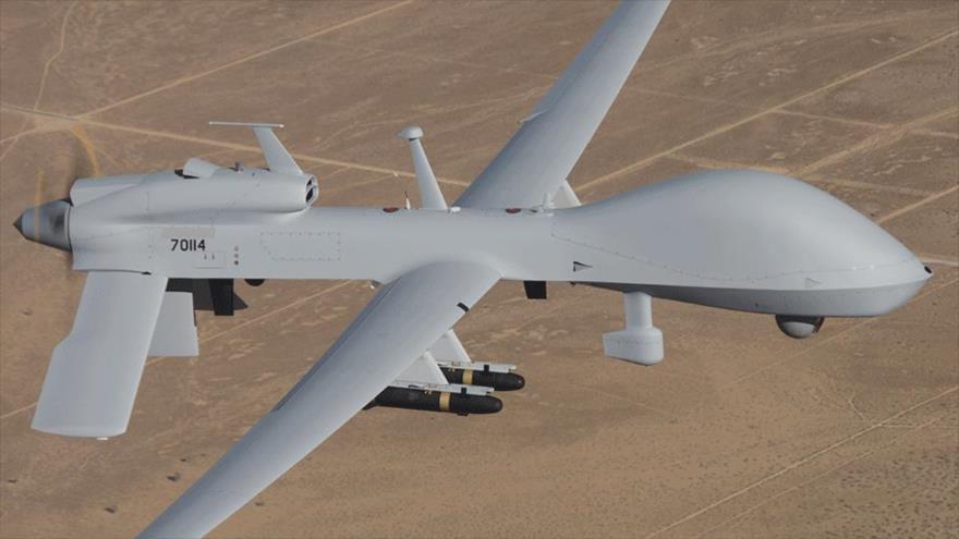 Fuerzas yemeníes derriban un dron saudí MQ-1 que sobrevolaba Saná
