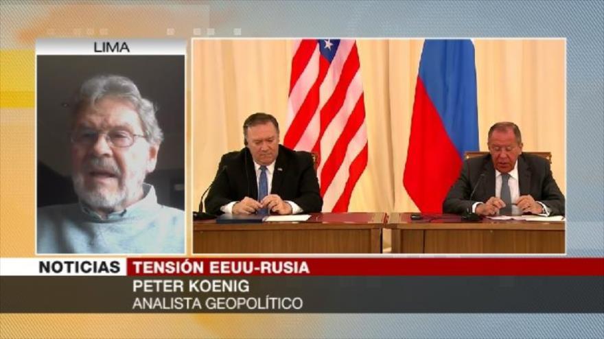 Koenig: EEUU no desea la paz con Rusia, pues necesita un enemigo