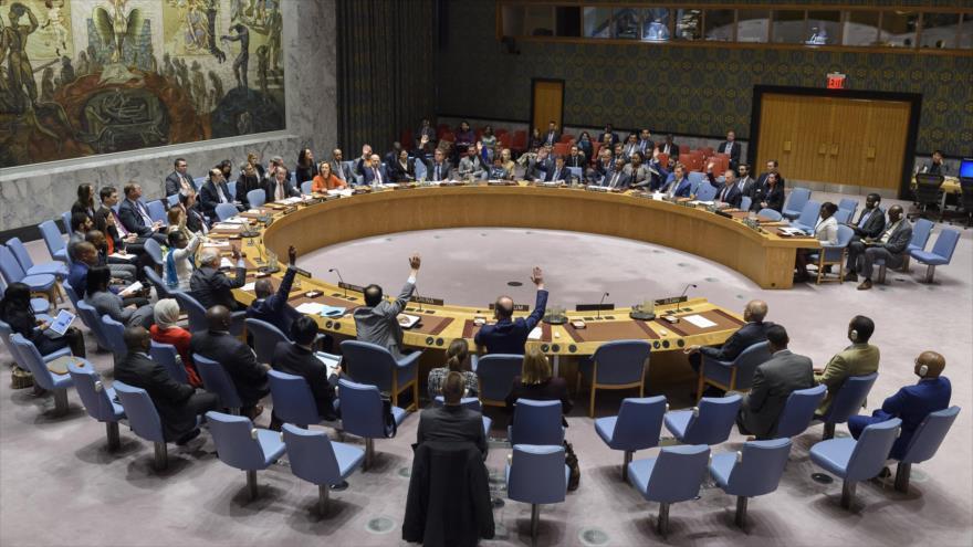 Una reunión del Consejo de Seguridad de las Naciones Unidas (CSNU), Nueva York, 14 de mayo de 2019. (Foto: un.org)
