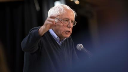 Sanders: una guerra con Irán sería mucho peor que la de Irak