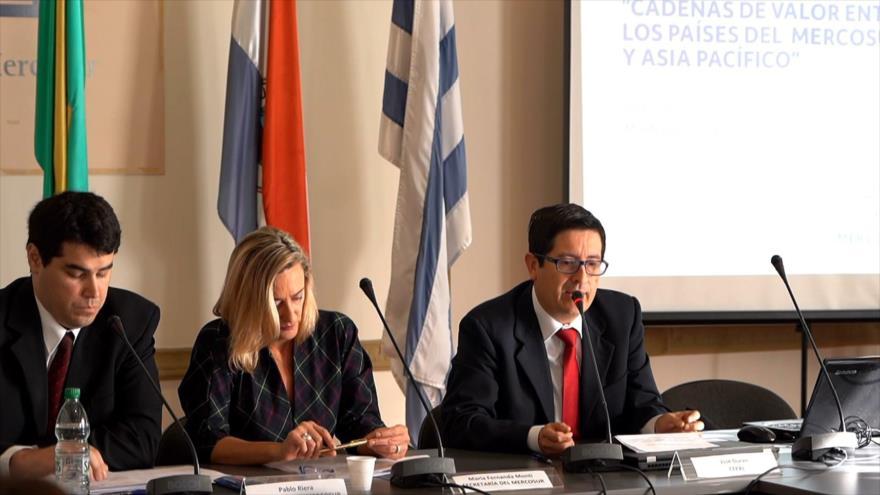 Uruguay discute cadenas de valor entre Mercosur y Asia-Pacífico