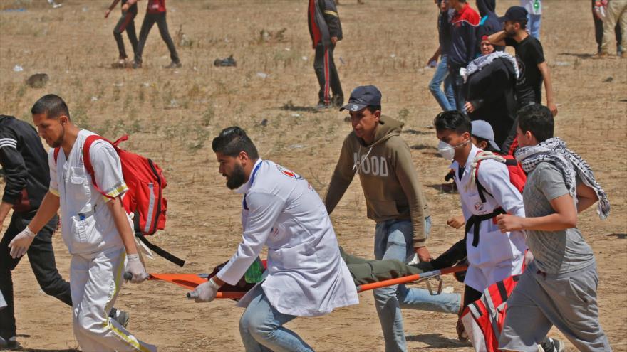 Militares israelíes atacan a los palestinos en el Día de la Nakba | HISPANTV