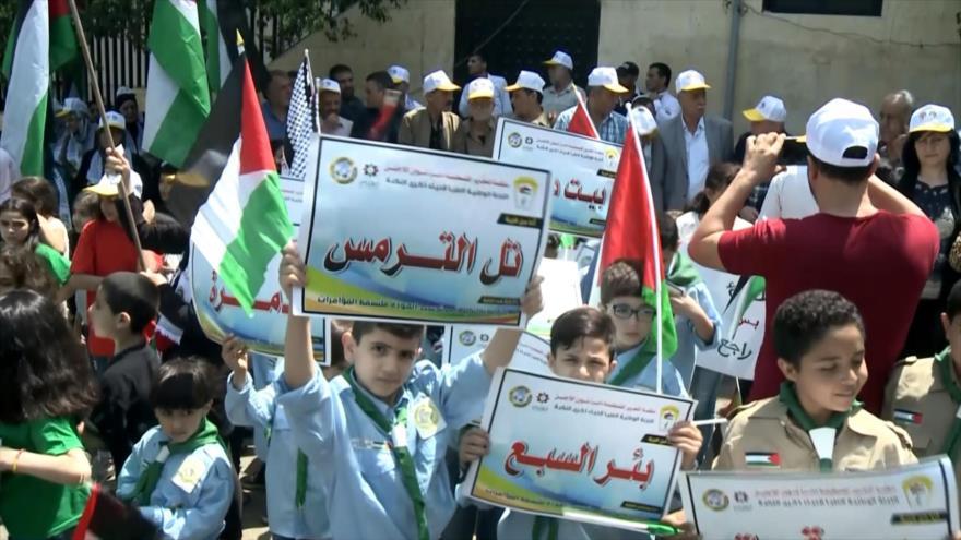 Se conmemora en El Líbano el 71.º aniversario del Día de la Nakba