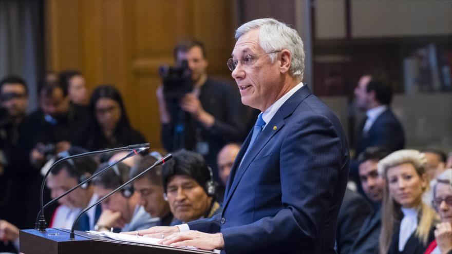 Bolivia responde a Chile en La Haya en el caso de aguas del Silala