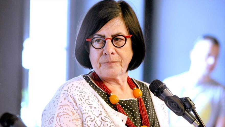 La embajadora israelí en Varsovia (capital de Polonia), Anna Azari.