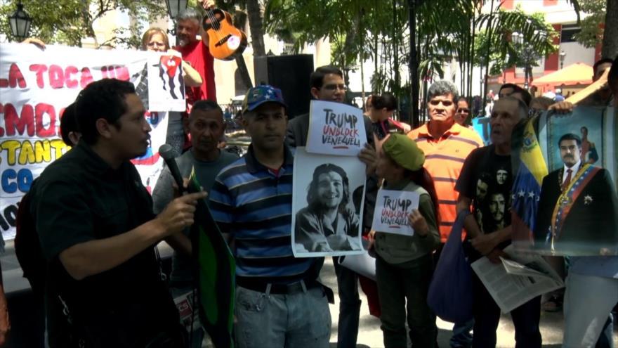 Solidaridad con activistas que ocupan embajada de Venezuela en EEUU