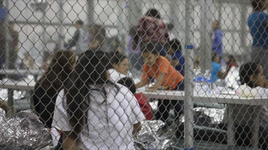 Resultado de imagen para niños migrantes detención