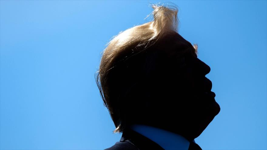 El presidente estadounidense, Donald Trump en Washington, la capital de EE.UU., 15 de mayo de 2019. (Foto: AFP)