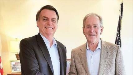 "Bolsonaro insta a Bush a ""evitar"" el regreso de Kirchner al poder"