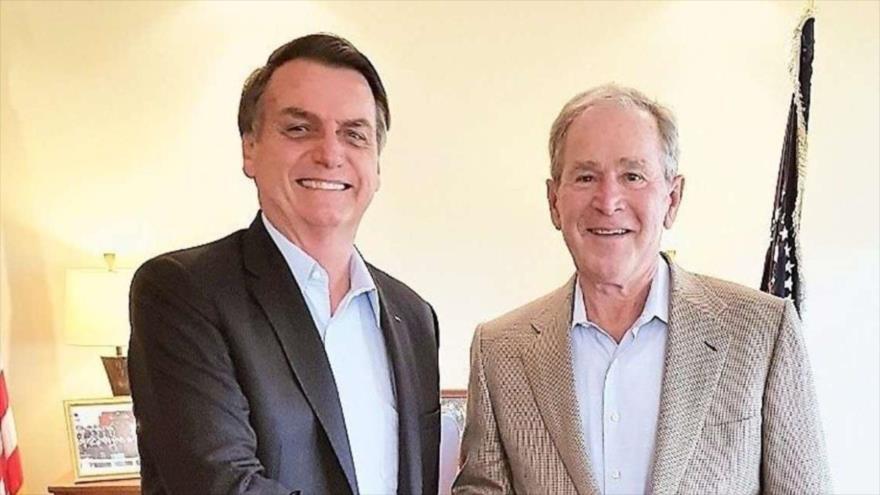"Bolsonaro insta a Bush a ""evitar"" el regreso de Kirchner al poder | HISPANTV"