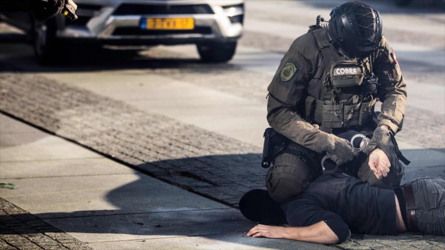 Fuerzas especiales de varios países europeos celebran una maniobra en los Países Bajos, 10 de octubre de 2018. (Foto: AFP)