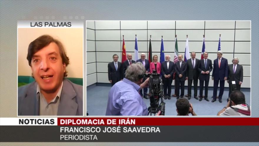 Saavedra: Compromiso iraní de salvar JCPOA, socava planes de EEUU