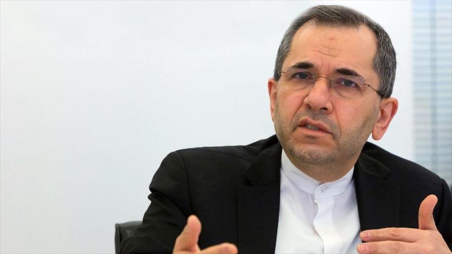Mayid Tajt Ravanchi, representante de Irán ante la Organización de las Naciones Unidas (ONU).