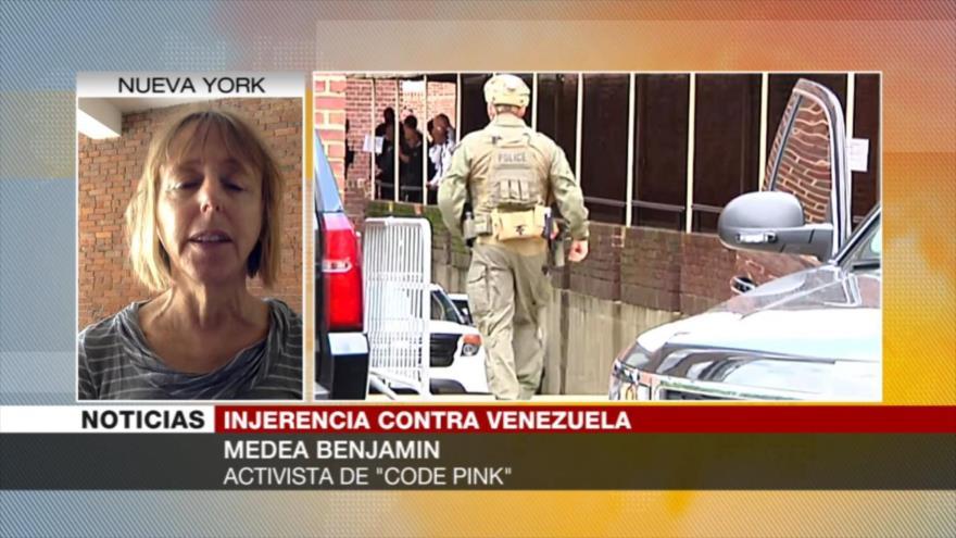 """""""EEUU viola la Convención de Viena atacando embajada venezolana"""""""