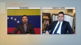 Moncada a HispanTV: EEUU comete locuras por estar drogado de poder